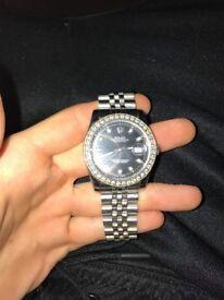 Rolex Datejust 116244 or 116200 Diamonds Iced