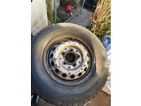 Mercedes sprinter 225 70 R15 complete tyres