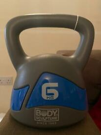 6KG Kettle bell FREE LOCAL DELIVERY