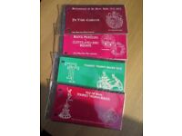 QUANTITY OF ISLE OF MAN PRESENTATION PACKS IN ALBUM ALL