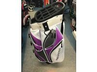 BENROSS LADIES 14 WAY CART BAG. MINT CONDITION