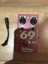 Full Tone 69 Fuzz MII pedal