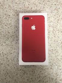 IPHONE 7 PLUS PRODUCT RED 128GB LIMITED EDITION