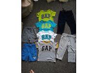 Bundle boy clothes sizes 18m to 2 yrs