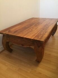 Beautiful solid wood coffee table