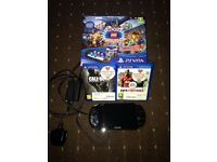 PS vita with 5 games (wifi) perfect condition