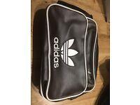 ** New** Vintage Airliner Bag Adidas Black & Brown - 2 Available classic design Shoulder style bag