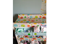 Cosatto baby changing unit (bath included)