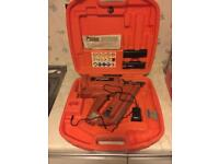 Newly Serviced First Fix Paslode IM350/90 Nail Gun PLUS Full box of nails with gas