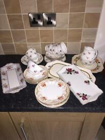 Vintage China - (32 Pieces)
