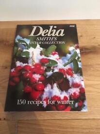 Brand new Delia Smith's Winter Collection Cookbook