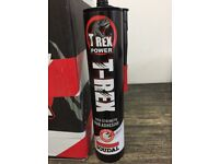T Rex Tubes of Strong Adhesive high strength grab adhesive