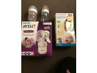 Avent manual breast pump