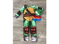 Ninja turtle dressing up outfit age 7-8