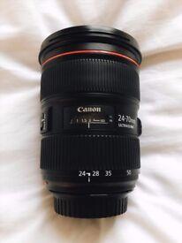 Canon 24-70 2.8 II L USM