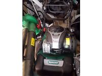 Qualcast 45cm Self Propelled 125cc petrol mower - Only been used once!!