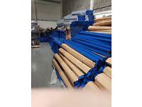 600 bays of longspan steel shelving 2m high x 600 deep x 1800 long 4 levels