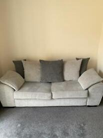 3 Seat Sofa and Snuggle Chair
