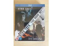 Star Trek 2 Movie Blu-Ray Boxset new & sealed