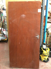 Wooden door mahogany colour big door for internal use £20