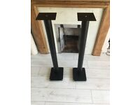 Speaker Monitors home cinema metal stands with spikes