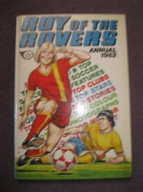 4 Roy of the Rovers annuals (1979, 1980, 1981, 1982)