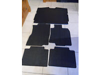 nissan x-trail quality rubber boot liner and 4 x interior mats