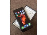 Apple IPhone 7 plus 128GB Jet Black on EE