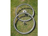 Vintage Raleigh stainless westrick wheels