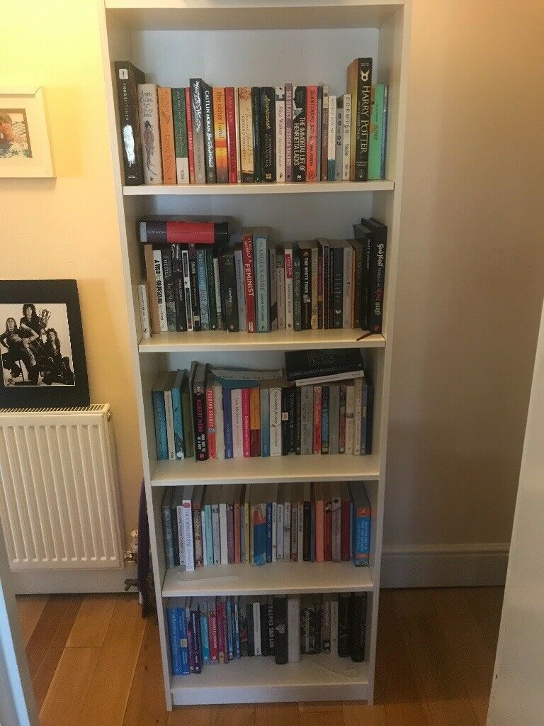 best service 56dbc cb9c7 IKEA White Gersby Bookcase 60x27x180cm | in Bethnal Green, London | Gumtree