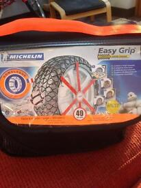 Michelin composite snow chains