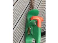 Hedge trimmer. Qualcast Hedgemaster 370