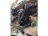 Phil and Teds double/single pushchair.