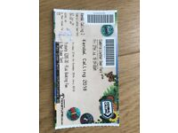 KENDAL CALLING 6 MAN PRE PITCHED DOME TENT TICKET FRI 27TH JULY