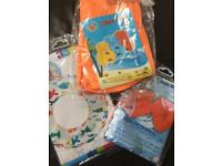 Brand new children's swimming aids set ideal for holidays girl/boy