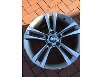 "BMW 3 series F30 18"" alloy wheel, part no: 6796247"
