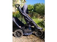 Phil & Ted's Sport buggy with double kit and cocoon