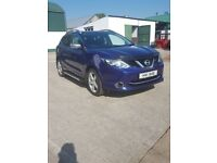 2014 Nissan Qashqai1.5 Dci accenta premium blue totally unmarked host of extras