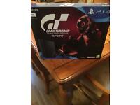 PS4 slim 500g brand new sealed with 2 top games
