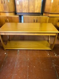 G Plan E Gomme Teak Veneered Long John Coffee Table. Mid Century Design, Vintage, Retro. ON SALE
