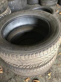 Michelin tyres x2 size 255 55 20