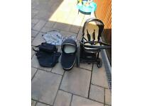 Oyster 2 Push chair with bassinet