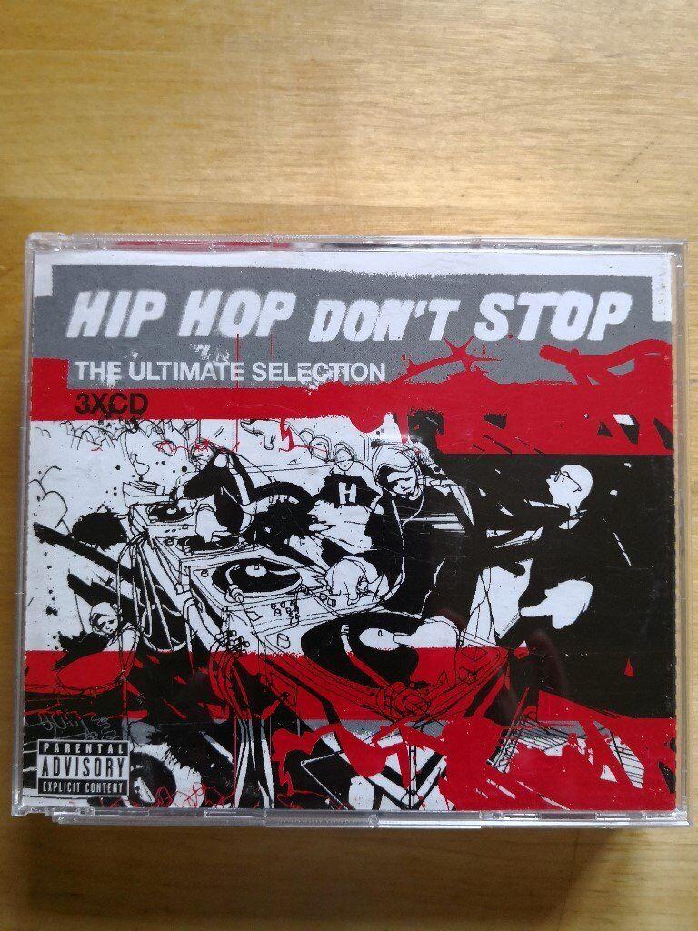 Hip hop greatest hits triple disc CDs. 50p