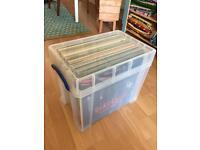 Box of Vinyl Records Beats/Breaks/Hip Hop/Dance