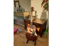 Acoustic Guitar Fender CC60s Mahogany + stand + tuner + sleeve