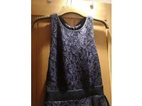 Beautiful WHISTLES blue size 12 dress