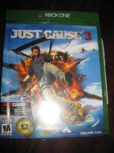 Just Cause 3 For Xbox One Game System. Freedom to Move. Skydive. Base Jump. Create Hovac. Test yourselfa