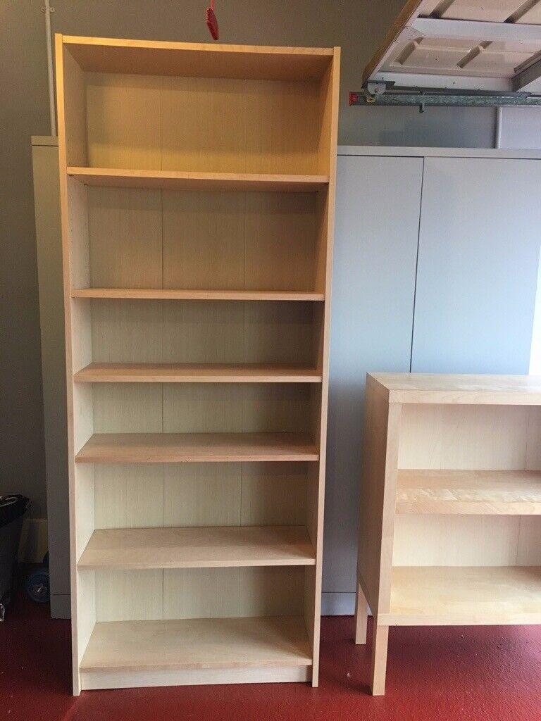 Ikea Billy Bookcase Oak Veneer In Dunfermline Fife Gumtree