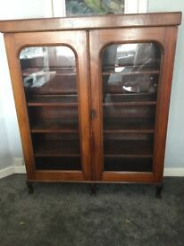 Gorgeous antique display cabinet