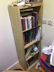 Light Beech Bookcase
